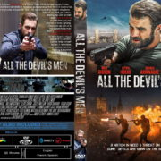 All The Devils Men (2017) R0 Custom DVD Cover