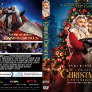 The Christmas Chronicles (2018) R1 Custom DVD Cover