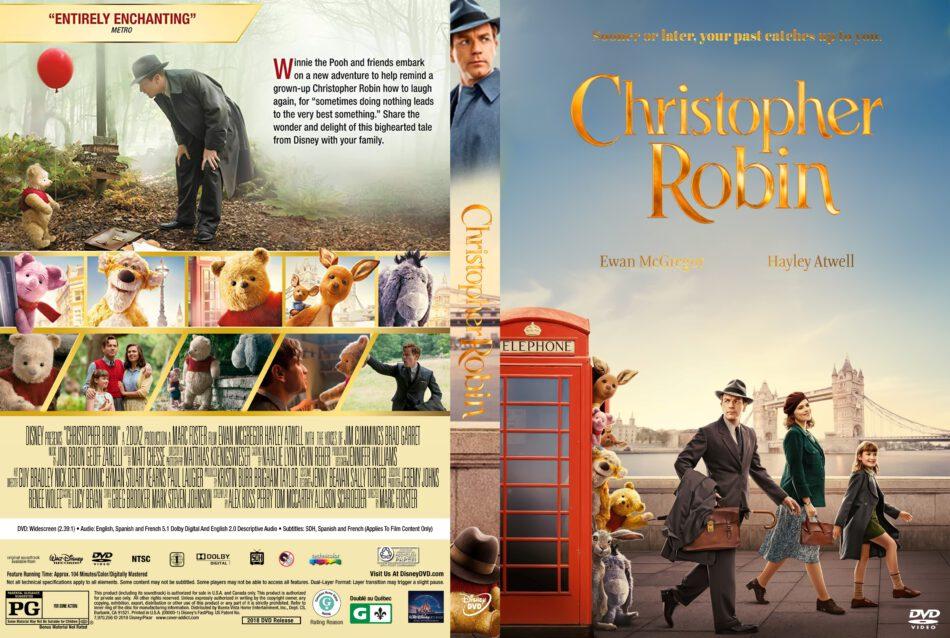 Christopher Robin 2018 R1 Custom Dvd Cover Dvdcover Com