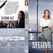 Second Act (2018) R0 Custom DVD Cover