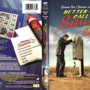 Better Call Saul: Season 1 (2015) R1 DVD Cover & labels
