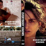 Everybody Knows (2018) R1 Custom DVD Cover