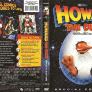 Howard The Duck (1986) SE R1 DVD Cover & Label