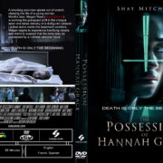 The Possession Of Hannah Grace (2018) R1 Custom DVD Cover
