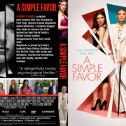 A Simple Favour (2018) R1 Custom DVD Cover