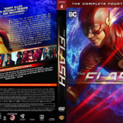 The Flash: Season 4 (2018) R1 DVD Cover
