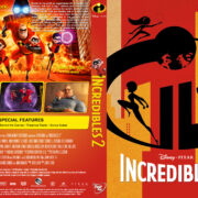 Incredibles 2 (2018) R1 Custom DVD Cover V2