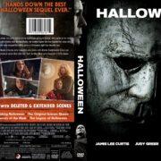 Halloween (2018) R1 Custom DVD Cover
