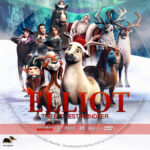 Elliot: The Littlest Reindeer (2018) R1 Custom DVD Label
