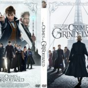 Fantastic Beasts: The Crimes of Grindelwald (2018) R0 Custom DVD Cover V2