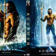 Aquaman (2018) R0 Custom DVD Cover V2