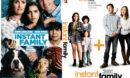 Instant Family (2018) R0 Custom DVD Cover