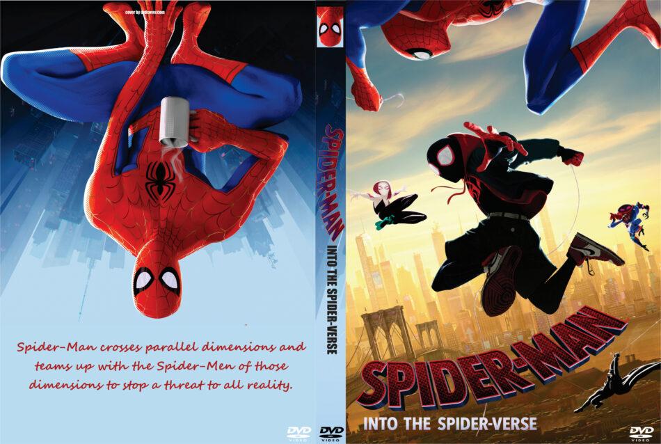 Spider Man Into The Spider Verse 2018 R0 Custom Dvd Cover V2 Dvdcover Com