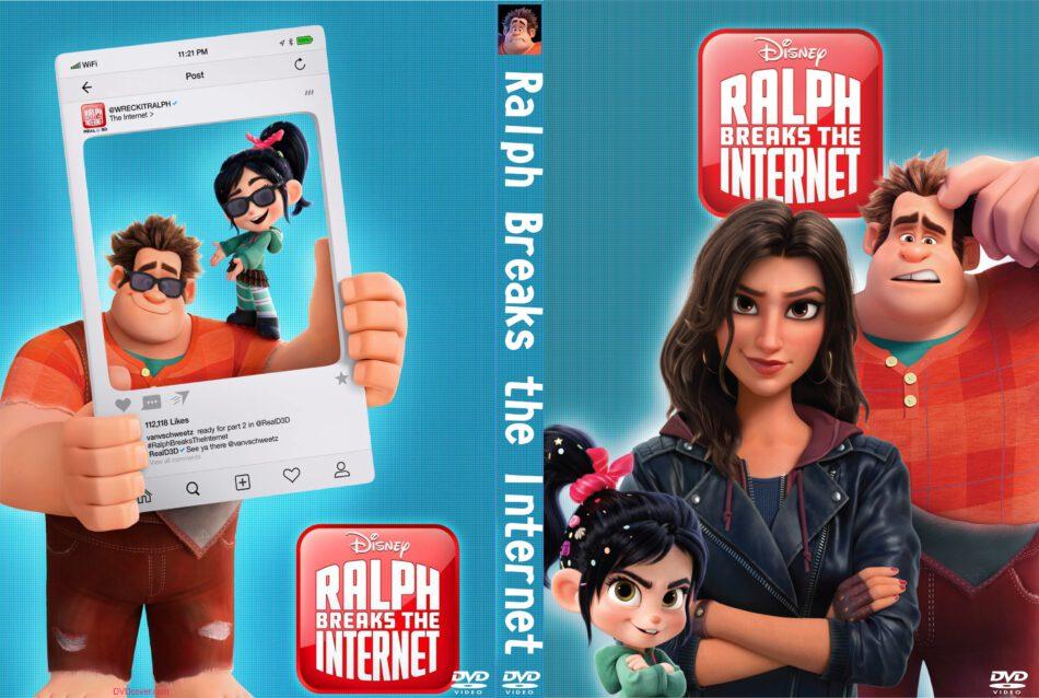 Ralph Breaks The Internet 2018 R0 Custom Dvd Cover V2 Dvdcover Com