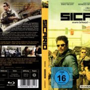 Sicario (2015) R2 German Blu-Ray Covers & Label
