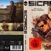 Sicario 2 - Soldado (2018) R2 German Custom Blu-Ray Covers & Label