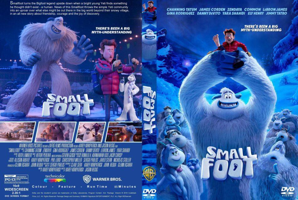 Smallfoot 2018 R1 Custom Dvd Cover Label Dvdcover Com