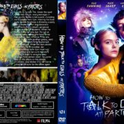 How To Talk To Girls At Parties (2017) R1 CUSTOM DVD Cover & Label