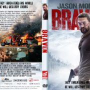 Braven (2018) R1 CUSTOM DVD Cover & Label