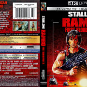 Rambo - First Blood Part II (1985) R1 4K UHD Custom Cover