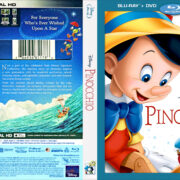 Disney's Pinocchio (2017) R1 CUSTOM Blu-Ray Cover