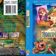 Disney's Robin Hood – 40th AE (1973) R1 CUSTOM Blu-Ray Cover