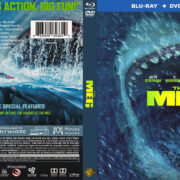 The Meg (2018) R1 CUSTOM Blu-Ray Cover