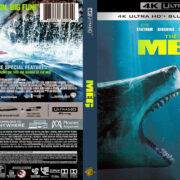 The Meg (2018) R1 4K UHD Custom Covers