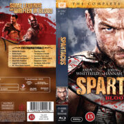 Spartacus: Blood And Sand: Season 1 (2010) R2 Nordic Blu-Ray Cover