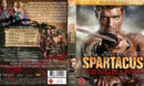 Spartacus: Vengeance (2012) R2 Nordic Blu-Ray Cover