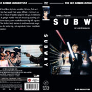 Subway (1985) R2 Custom Nordic DVD Cover