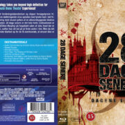 28 Days Later (2002) R2 Nordic Custom Blu-Ray Cover