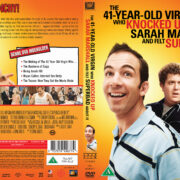 The 41-Year-Old Virgin Who Knocked Up Sarah Marshall and Felt Superbad About It (2010) R2 Nordic DVD Cover