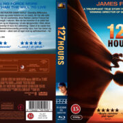 127 Hours (2010) R2 Nordic Custom Blu-Ray Cover