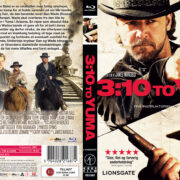 3:10 to Yuma (2007) R2 Nordic Custom Blu-Ray Cover