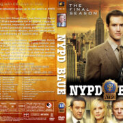NYPD Blue – Season 12 (2005) R1 Custom DVD Cover