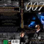 James Bond 007 – Quantum of Solace R2 German DVD Cover