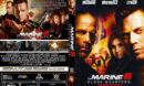 Marine 6 Close Quarters (2018) R0 Custom DVD Cover