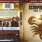 Scorpion King: Book Of Souls (2018) R1 Blu-Ray Cover & Labels