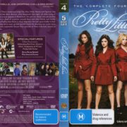 Pretty Little Liars: Season 4 (2013) R4 DVD Cover