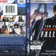 Mission: Impossible – Fallout (2018) R1 4K UHD Cover & Labels