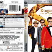 Kingsman: The Golden Circle (2017) R1 4K UHD Cover