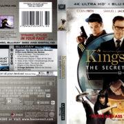 Kingsman: The Secret Service (2014) R1 4K UHD Cover