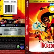 Incredibles 2 (2018) R1 4K UHD Cover