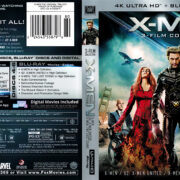 X-Men 3-Film Collection (2018) 4K UHD Cover