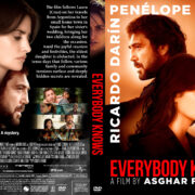 Everybody Knows (2018) R1 Custom DVD Cover V2
