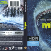 The Meg (2018) R1 4K UHD Cover & Labels