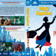 Mary Poppins Double Feature (1964-2018) R1 Custom DVD Cover