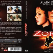 Zorro (1975) R2 German Blu-Ray Cover & Label