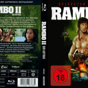 Rambo II – Der Auftrag (1985) R2 German (4k Remastered) Custom Covers & Label